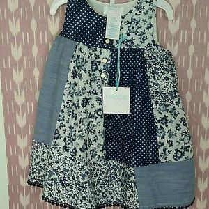 NWT Maggie & Zoe Patchwork Dress w/Bloomers